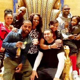 Phaedra Parks Spends Christmas With Kandi Burruss in the Caribbean (PHOTO)