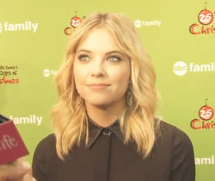 """Ashley Benson on Her """"Awkward"""" On-Screen Threesome With James Franco (VIDEO)"""