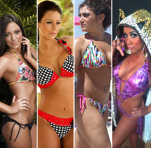 Which Jersey Shore Girl Has the Best Bikini Bod?