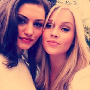 Vampire Diaries' Phoebe Tonkin Grills Claire Holt on Her Intense Fitness Regimen