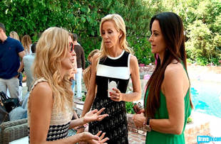 Real Housewives' Kyle Richards Feels Brandi Glanville's Comments Went Too Far