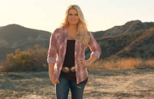 Check Out Jessica Simpson's 50-Pound Post-Baby Slim-Down in New Weight Watchers Commercial (VIDEO)