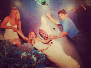 Ramona Singer's Family Gets Attacked by a Shark in Throwback Thursday Photo!