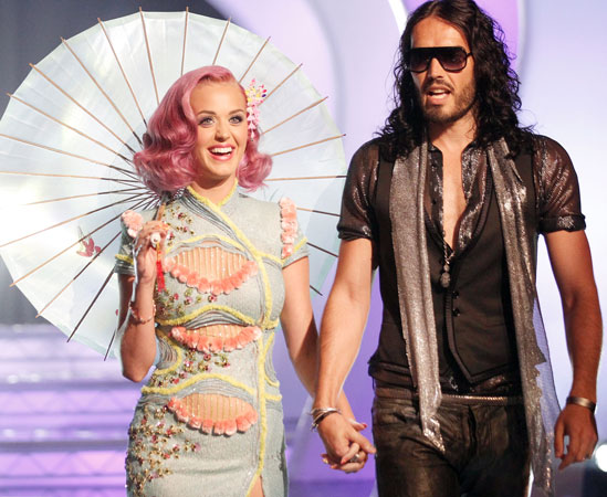 Katy Perry and Russell Brand's Awkward Restaurant Encounter: Report
