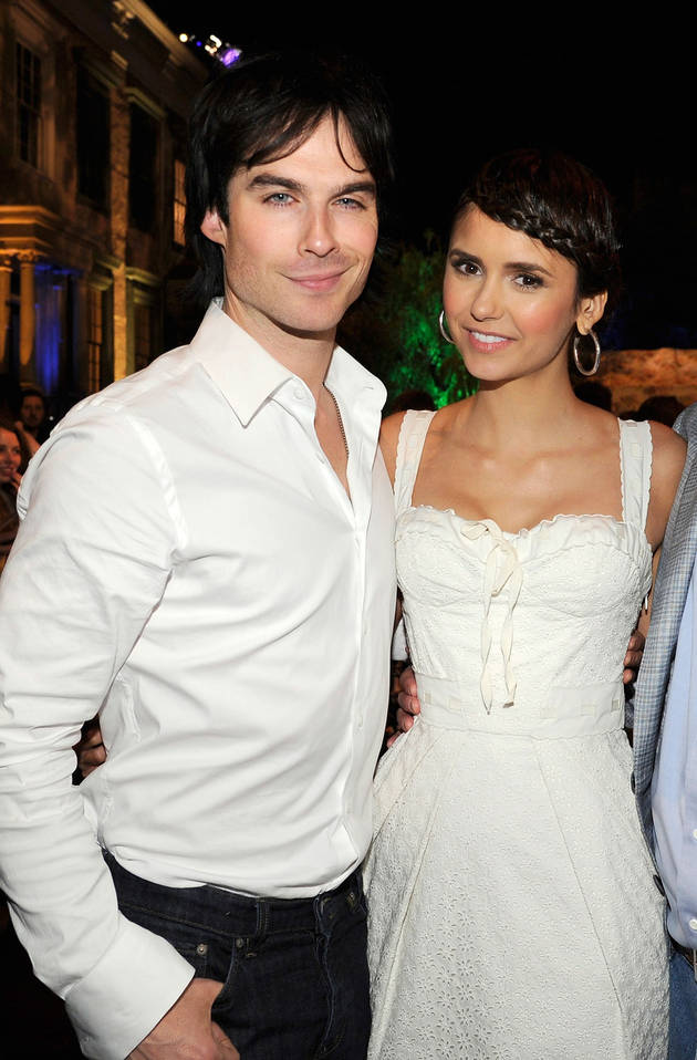 Do Nina Dobrev and Ian Somerhalder Live Together? Vampire Diaries Fan Question of the Day