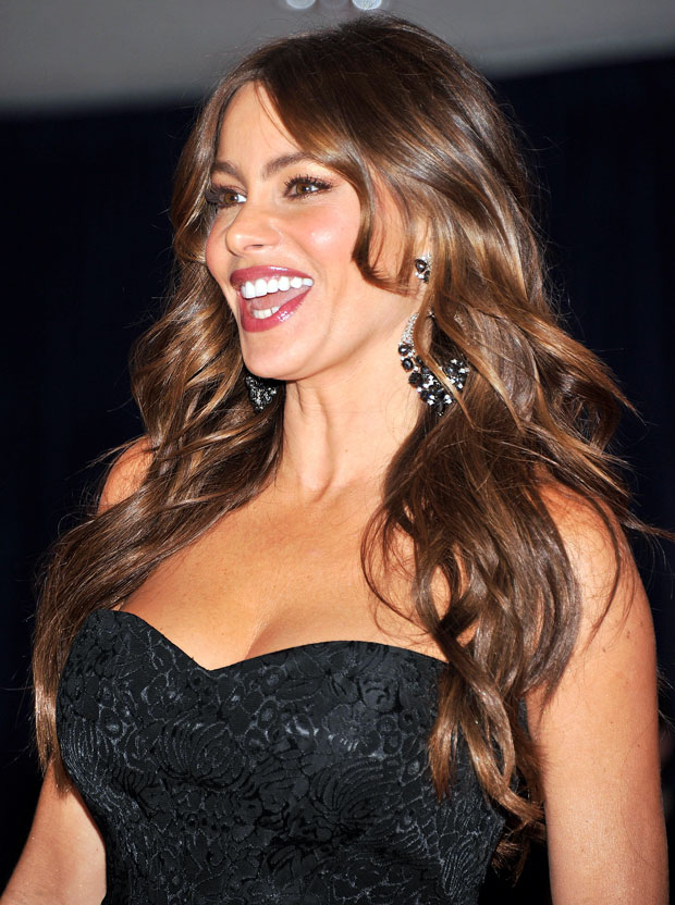 Modern Family's Sofia Vergara Flaunts Her Sexy Body in a Cutout Swimsuit (PHOTOS)