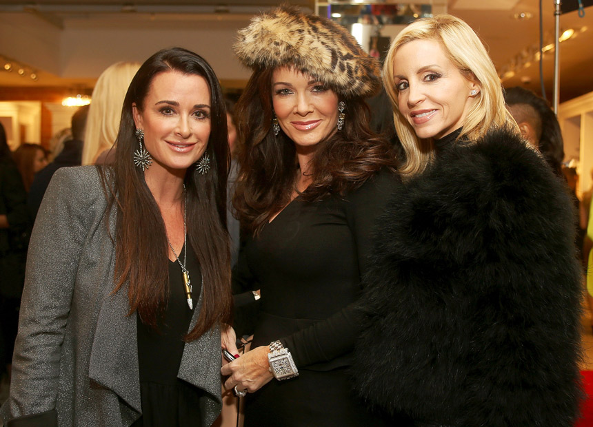 Real Housewives' Camille Grammer Dishes About Her Upcoming Fight With Lisa Vanderpump
