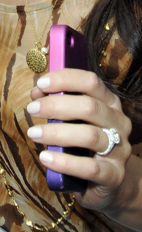Ashley Hebert's Wedding Bling — Including 30-Carat Diamond Bracelet!