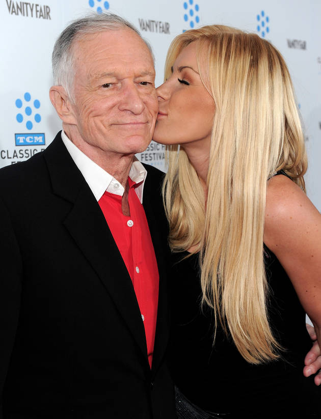 Hugh Hefner and Crystal Harris Obtain Their Marriage License Today As They Try Again