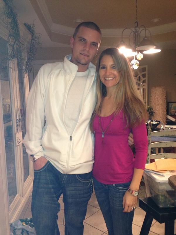 Jenelle Evans and Courtland Rogers Get a Surprise Christmas Visitor! (PHOTO)