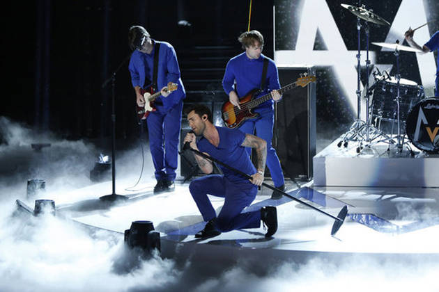 Adam Levine and Maroon 5 Will Perform on Grammy Nominations Concert Tonight, Dec. 5, 2012!