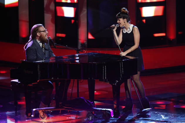 "Watch Melanie Martinez and Nicholas David Sing Fiona Apple's ""Criminal"" on The Voice Live Results Show, Dec. 4, 2012 (VIDEO)"