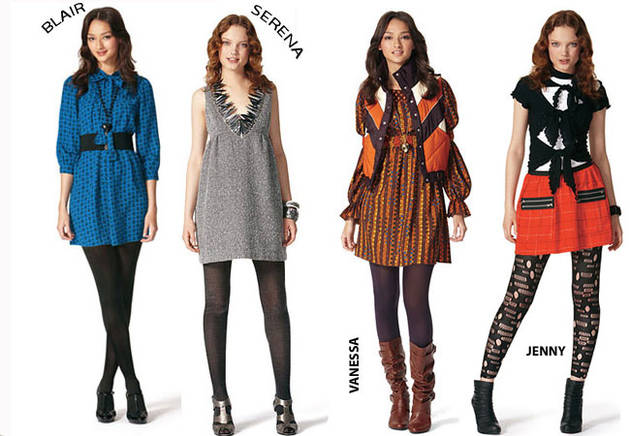 Which Fashion Designer Created a Line Inspired by Gossip Girl?
