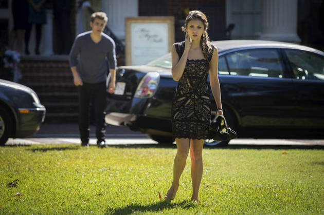 "Where to Find Elena's Miss Mystic Falls Dress From Vampire Diaries Season 4, Episode 7: ""My Brother's Keeper"""