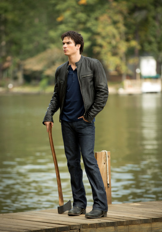 Vampire Diaries Season 4, Episode 9 Spoilers: What's Damon Doing With That Ax?