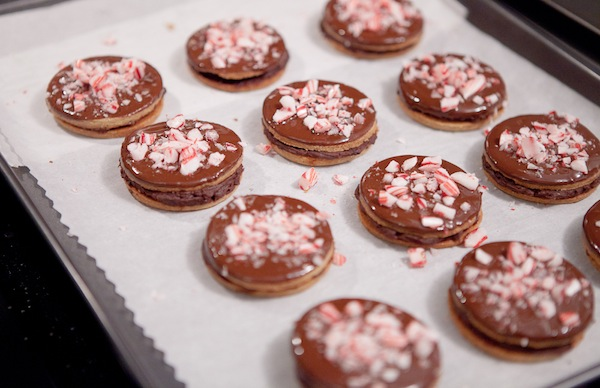 Delicious Holiday Recipe of the Day: Giada De Laurentiis' Peppermint-Chocolate Sandwich Cookies