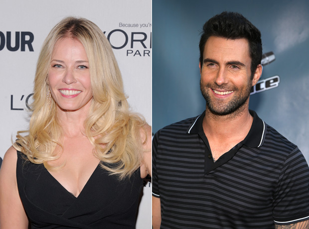 "Chelsea Handler Proposes to Adam Levine: ""We Should Get Together and Not Have a Baby"" (VIDEO)"