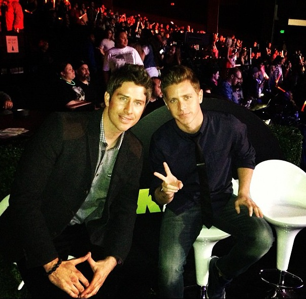 Jef Holm and Arie Luyendyk, Jr. Are Clubbing Again — For a Cause