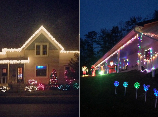 Catelynn Lowell vs. Leah Messer: Which Teen Mom's Holiday Lights Are More Festive? (PHOTOS)