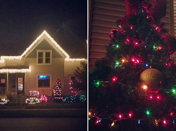 Catelynn Lowell and Tyler Baltierra Decorate Their House For Christmas! (PHOTOS)