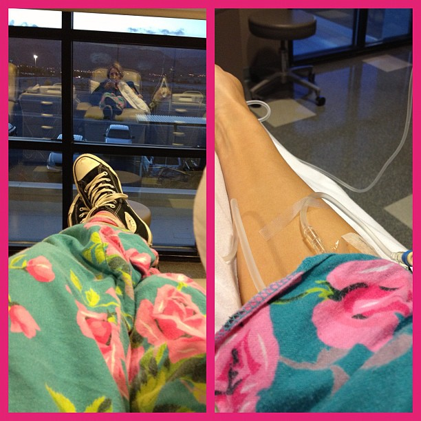 Holly Madison, Nearly 7 Months Pregnant, in Hospital For Extreme Morning Sickness