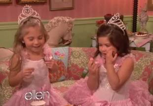 "Sophia Grace and Rosie Have ""Tea Time"" With Taylor Swift on The Ellen Degeneres Show"