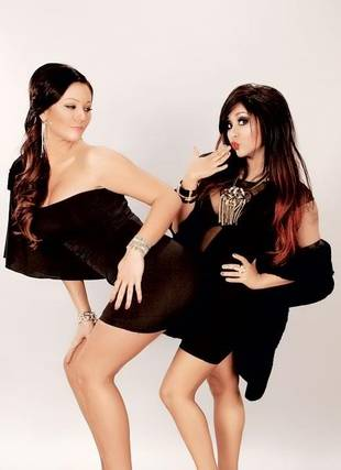 Super Skinny Snooki and JWOWW Get Sexy in New Photo Shoot (PHOTO)