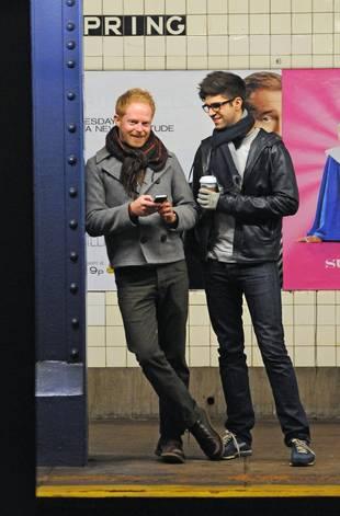 Spotted: Modern Family's Jesse Tyler Ferguson With Boyfriend on the Subway (PHOTO)