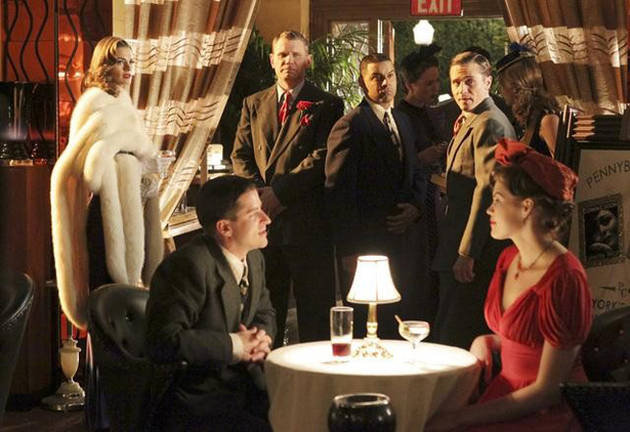 "Which Character Had the Best 1940s Persona on Castle Season 4, Episode 14: ""The Blue Butterfly""?"