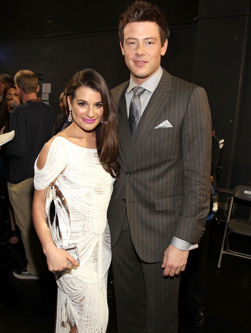 """Lea Michele and Cory Monteith Are """"Hooking Up,"""" But How Serious Is It?"""