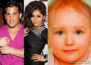What Would Snooki and Jionni's Baby Look Like? (PHOTO)