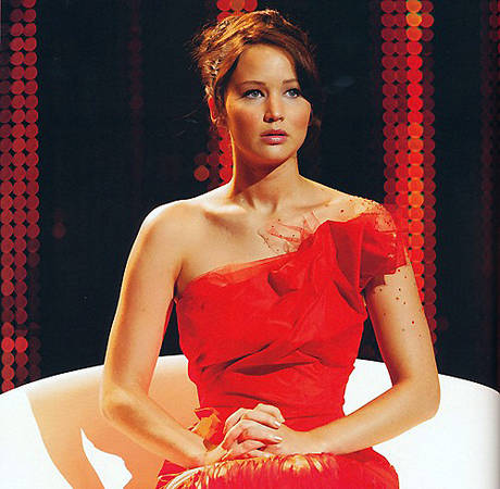 Katniss's Fiery Hunger Games Dress Revealed! Is It Hot Enough?