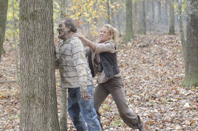 The Walking Dead Season 2 Finale: Who Is the Sword-Wielding Caped Figure?