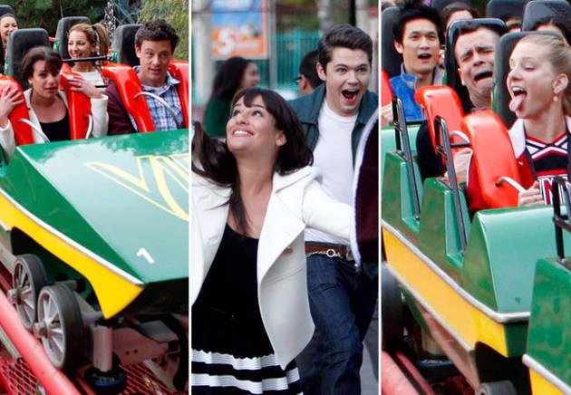 "New Spoiler Photos: Glee Season 3, Episode 15: ""Big Brother"" — Amusement Park Mania!"