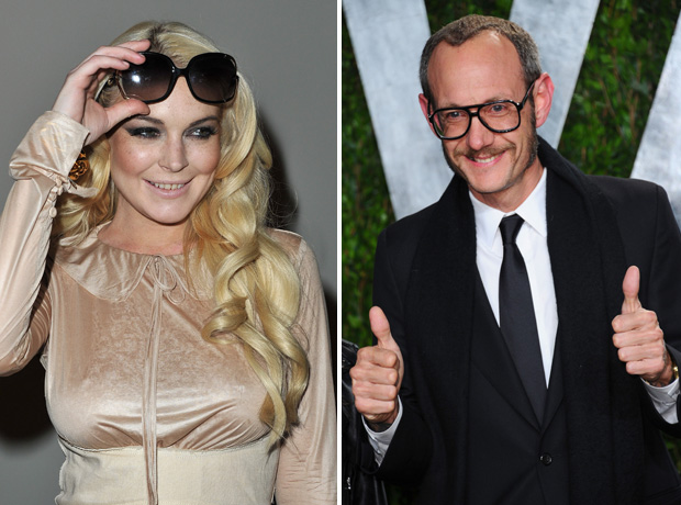 Lindsay Lohan Is Apparently Straight Again, Wants to Date 46-Year-Old Photographer Terry Richardson