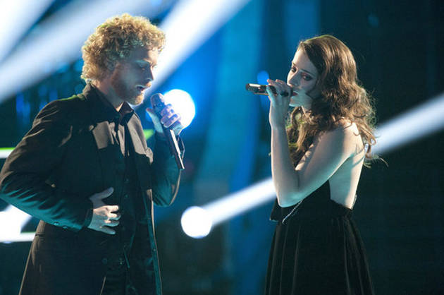 "Lindsey Pavao vs. Lee Koch on The Voice Battle Round 2, March 12, 2012: Who Sang ""Heart-Shaped Box"" Better? (VIDEO)"