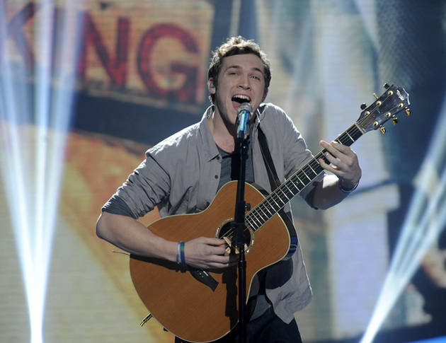 American Idol 2012's Phillip Phillips on Dave Matthews Comparisons and Hiding Behind His Guitar