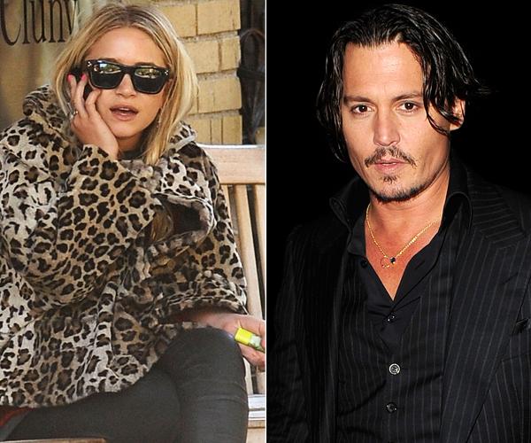 Rumor Patrol: Is Ashley Olsen Hooking Up With Johnny Depp?