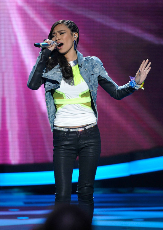 Do You Think Jessica Sanchez Should Have Been Saved in American Idol 2012 on April 12, 2012