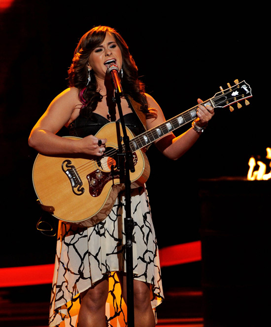 Jessica Sanchez Gets Saved! American Idol 2012 Recap of the Top 7 Results on April 12, 2012