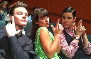 """Glee Season 3 Spoilers: Darren Criss on New Klaine Drama and the """"Next Step"""" After Graduation Goodbyes"""