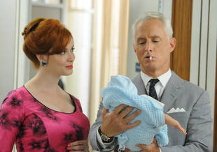 "John Slattery: Roger and Joan Are ""Soulmates,"" But Will They Reunite on Mad Men?"