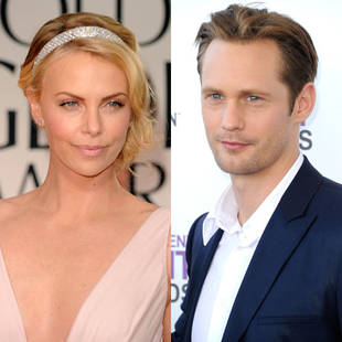 Charlize Theron and Alexander Skarsgard Are Dating, Sort Of