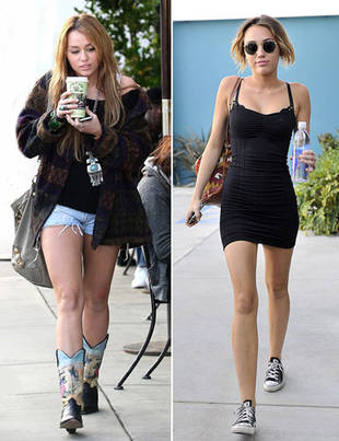 Miley Cyrus: Then and Now — Has She Taken Her Weight Loss Too Far?