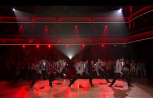 Dancing With the Stars Season 14, Week 3 Results Show Performance: Men in Suits (VIDEO)