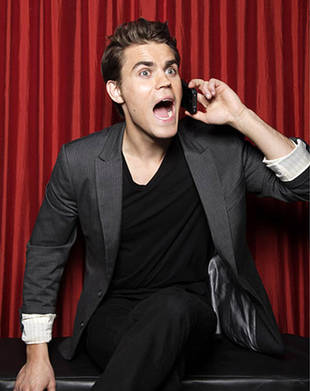 DVR Alert! Watch Paul Wesley on Live with Kelly on April 16