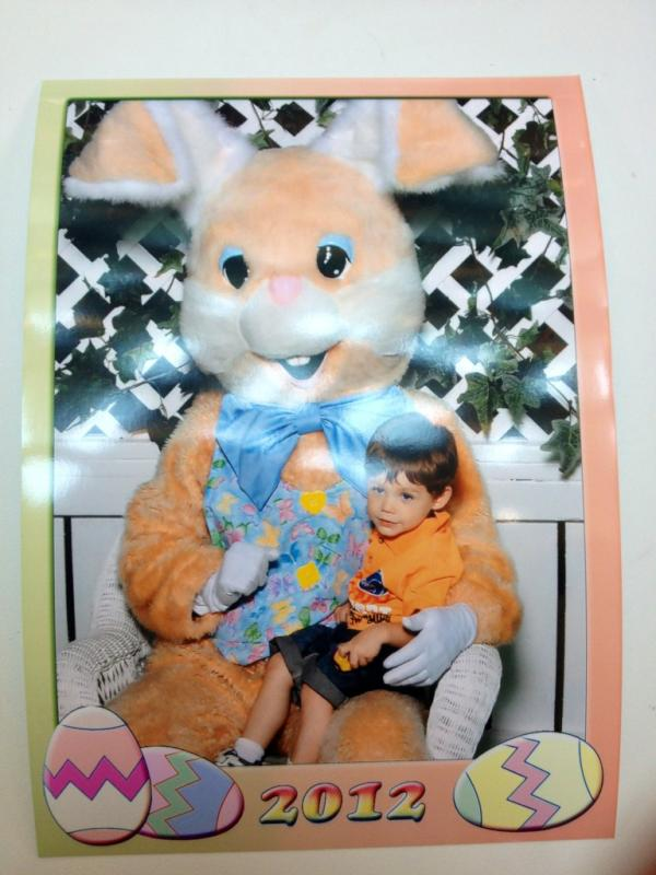 Cute Teen Mom Pic of the Day: Jace Meets the Easter Bunny