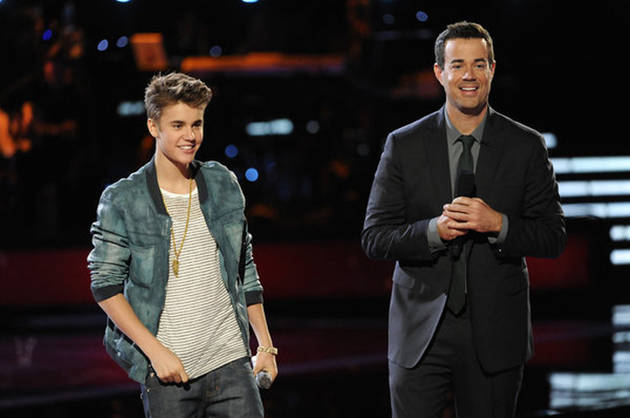 """Justin Bieber Previews Sexy Music Video for New Single """"Boyfriend"""" on The Voice!"""