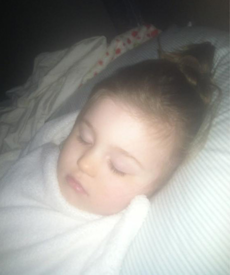 Amber Portwood's Baby Leah Is a Sleeping Beauty!