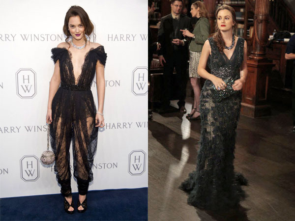 Leighton Meester vs. Blair Waldorf in a See-Through Dress: Who Wore It Best?